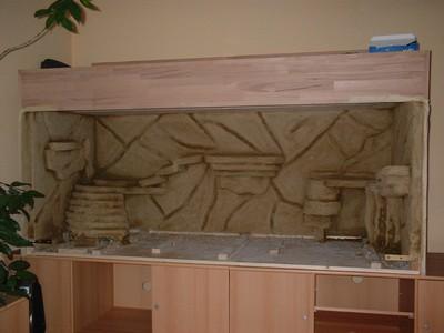 bau eines terrarium. Black Bedroom Furniture Sets. Home Design Ideas
